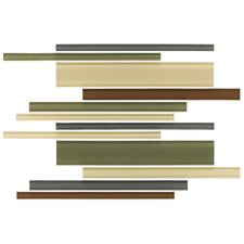 Glass Reflections Random Sized Frosted Interlocking Accent Blend in Urban Camouflage