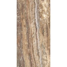 "San Michele 24"" x 12"" Vein - Cut Field Tile in Moka"