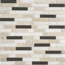 "<strong>Daltile</strong> Stone Radiance 12"" x 12"" Random Mosaic Tile Blend in Kinetic Khaki"