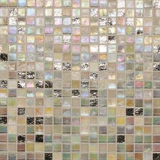"City Lights 1/2"" x 1/2"" Mosaic Blend Field Tile in Hollywood"