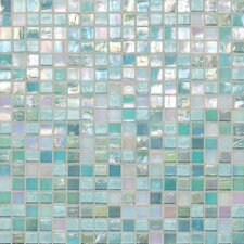 "City Lights 1/2"" x 1/2"" Glass Unpolished Mosaic in South Beach"