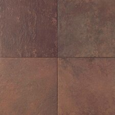 "Continental Slate 18"" x 12"" Field Tile in Indian Red"