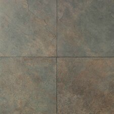 "Continental Slate 18"" x 12"" Field Tile in Brazilian Green"