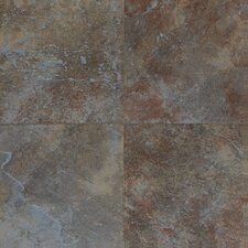 "Continental Slate 18"" x 12"" Field Tile in Tuscan Blue"