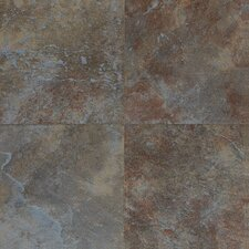 "Continental Slate 18"" x 18"" Field Tile in Tuscan Blue"