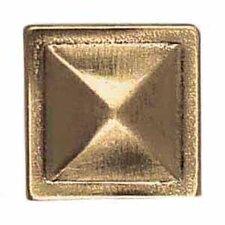 "Massalia 1"" x 1"" Decorative Pinnacle Button in Bullion"
