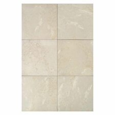 "Pietre Vecchie 13"" x 13"" Field Tile in Antique Ivory"