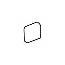 """Sandalo 2"""" x 2"""" Radius Bullnose Corner Tile Trim in Castillian Gray"""