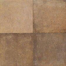"Terra Antica 18"" x 18"" Field Tile in Oro"
