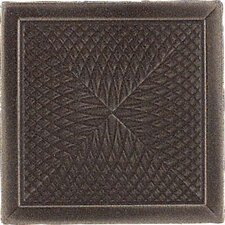 "<strong>Daltile</strong> Urban Metals 2"" x 2"" Spiral Decorative Dot in Bronze"