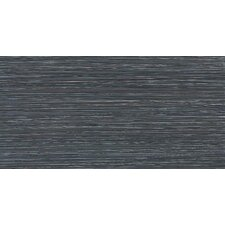 "Fabrique 12"" x 24"" Unpolished Field Tile in Noir Linen"