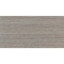 "Fabrique 12"" x 24"" Polished Field Tile in Gris Linen"