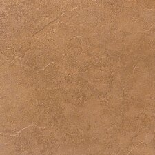 "Cliff Pointe 18"" x 18"" Porcelain Field Tile in Redwood"