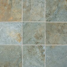 Franciscan Slate Unpolished Tile in Coastal Azul