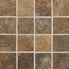 """Franciscan Slate 3"""" x 3"""" Unpolished Mosaic Tile in Terrain Marrone"""