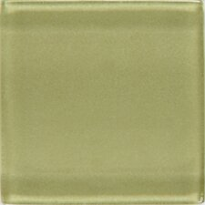"<strong>Daltile</strong> Isis 12"" x 12"" Glass Mosaic Tile in Kiwi"