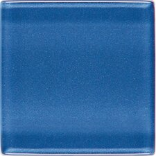 "<strong>Daltile</strong> Isis 12"" x 12"" Glass Mosaic Tile in Polo Blue"