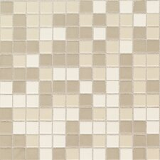 "Keystones Blends 1"" x 1"" Plain Porcelain Mosaic Tile in Beach"