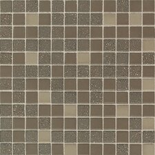 "Keystones Blends 12"" x 24"" Plain Porcelain Mosaic Tile in Terrain"