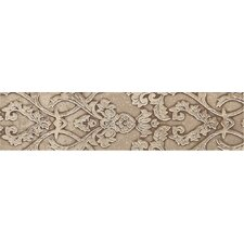 "Fashion Accents 10"" x 2"" Provincial Decorative Accent in Damask Dark"