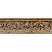 "<strong>Daltile</strong> Fashion Accents 13"" x 4"" Romanesque Decorative Listello in Flora Noce"