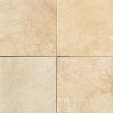 "Florenza 12"" x 12"" Plain Floor Tile in Sabbia"