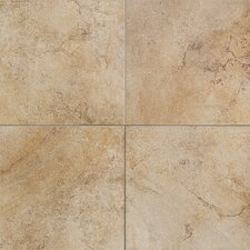 "Florenza 12"" x 12"" Plain Floor Tile in Oliva"