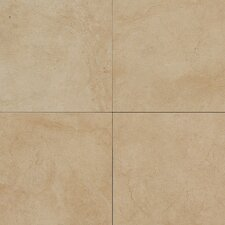 "Monticito 18"" x 18"" Plain Field Tile in Brune"