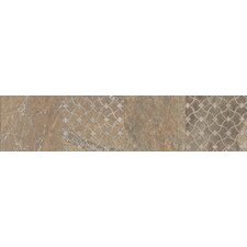 "Ayers Rock 13"" x 3"" Unpolished Decorative Border in Bronzed Beacon"