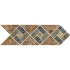 "<strong>Daltile</strong> Heathland 12"" x 4"" Decorative Accent in Sunset"