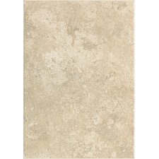 "Stratford Place 14"" x 10"" Plain Ceramic Wall Tile in Alabaster Sands"