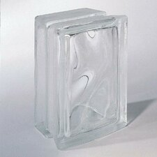 "<strong>Daltile</strong> Glass Block 8"" x 6"" Decora Block"