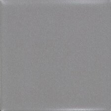 "Permatones 2"" x 2"" Plain Mosaic Field Tile in Matte Suede Gray"