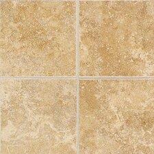 """Castle De Verre 13.13"""" x 13.13"""" Mosaic Field Tile in Chalice Gold"""