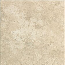 "Stratford Place 6"" x 6"" Plain Ceramic Wall Tile in Alabaster Sands"