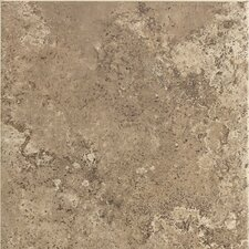 "Stratford Place 6"" x 6"" Plain Ceramic Wall Tile in Truffle Field"