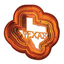 Copper Texas Wind Spinner