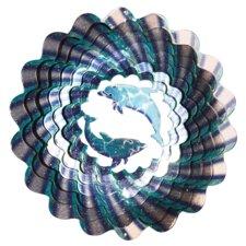 Designer Dolphins Wind Spinner