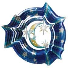 Designer Moon and Stars Wind Spinner