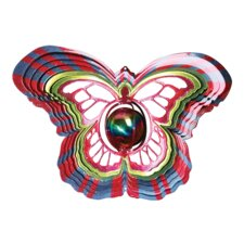 Designer Gazing Butterfly Wind Spinner