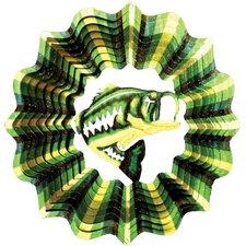 Designer Bass Fish Wind Spinner