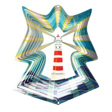 Designer Lighthouse Wind Spinner