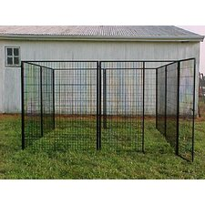 Commercial Grade Welded Wire Heavy Duty Yard Kennel