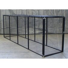 Grid Welded Wire Yard Kennel