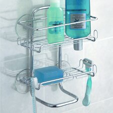 <strong>InterDesign</strong> Classico Suction Shower Shelves