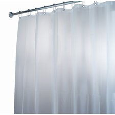 <strong>InterDesign</strong> EVA Waterproof Frost Shower Curtain / Liner