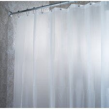 <strong>InterDesign</strong> EVA Waterproof Frost Extra Long Chlorine Free Shower Curtain / Liner