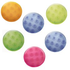 <strong>InterDesign</strong> Glee Bright Bath Dot (Set of 6)