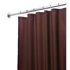 Waterproof Polyester Shower Curtain/Liner