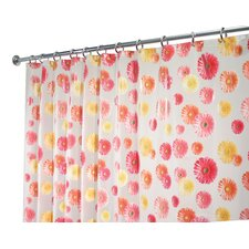 EVA Vinyl Frost Gerbera Daisy Shower Curtain